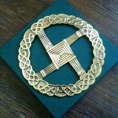 A lovely bridget cross pin