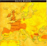 Large Celtic Populations of Ancient Europe in 20 B.C.