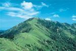 Tsurugi Mountain in Tokushima