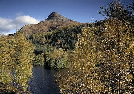 Glen Coe, Scotland, in the autumn.