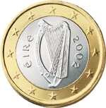 Irish modern coin