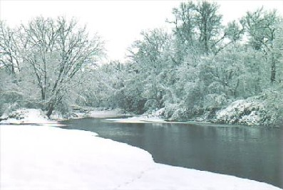 the cold and frigid banks of the Cannon river run through the Carleton Arboretum.  Many a sweatlodge and vigil have been performed on its riverside, and it is a favorite place for canoists, bicylcists and cross-country skiers.