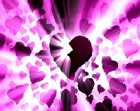 Wounded heart in a sea of love