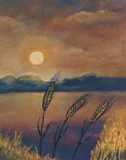 Lughnasadh sunset