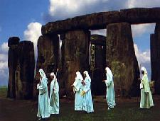 Druids on the march in Britain, technically probably more like a group like AOD