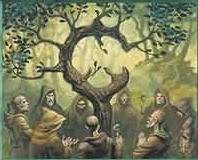Druids in a Grove