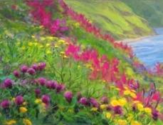 irish flowers by the sea