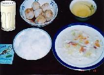 a typical bland Scandinavian meal.