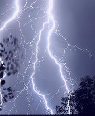 Minnesotan lightning storm