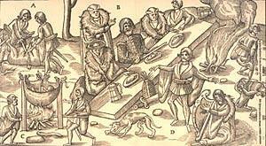 12th century Irish feast