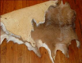 finished deerhide