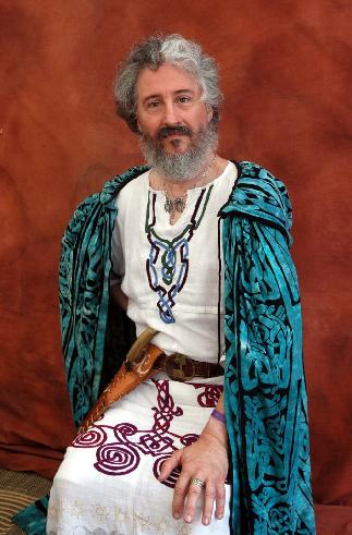 Isaac in ceremonial robes